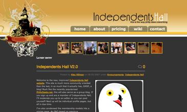 Indyhall 2.0 Screenshot