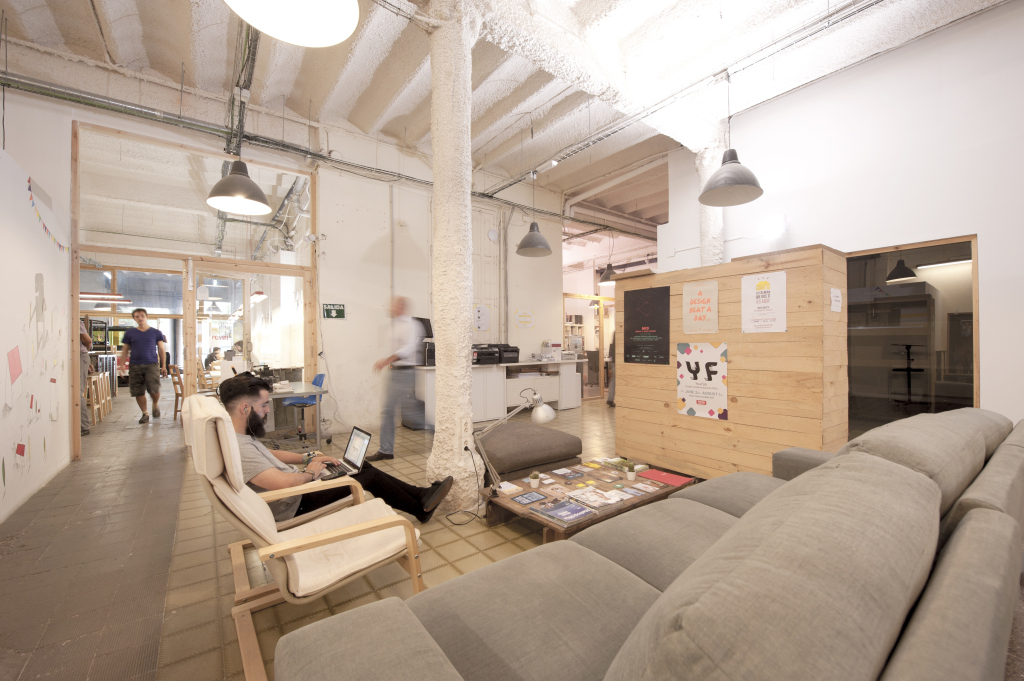 makers of barcelona coworking space